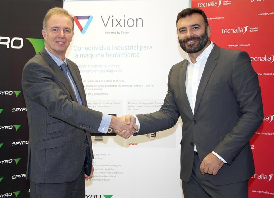 Nace VIXION, una nueva empresa creada por SPYRO y TECNALIA